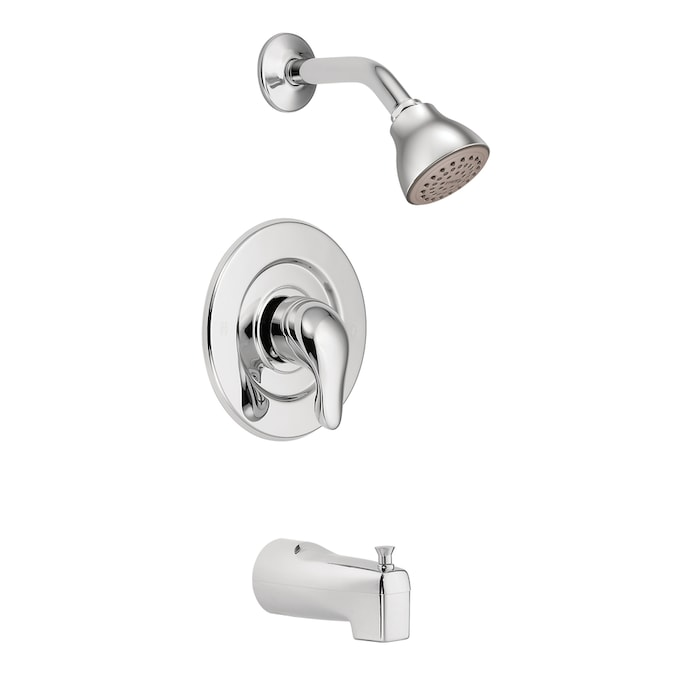 MOEN 100224 Chateau Collection Chrome Faucet Lever Handle Kit w//Hardware NEW!
