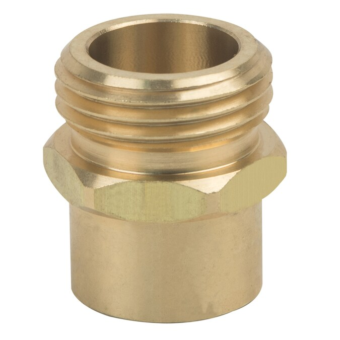 "2 pcs 3//4/"" Female Garden Hose x 1//2/"" FIP Threaded Swivel Brass Adapter Fitting"