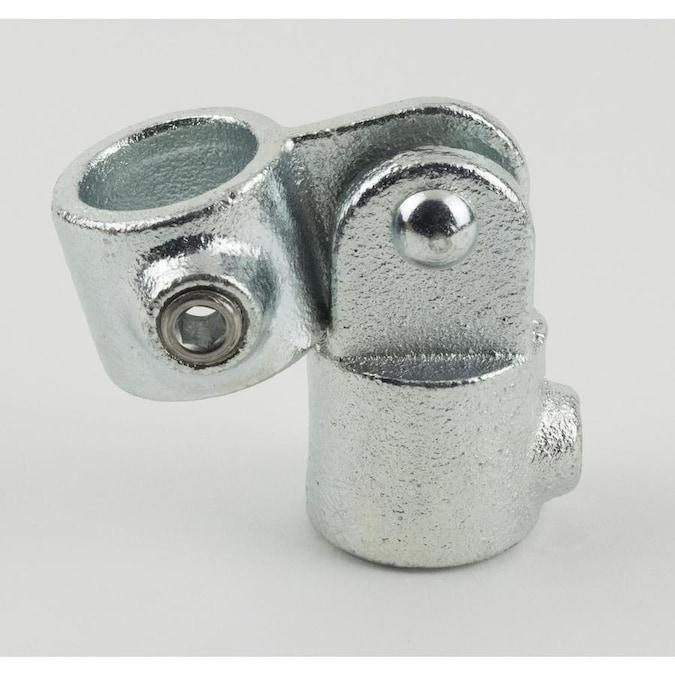 """5 Steel-Tek structural fittings 3//8/"""" galv SIDE OUTLET SOCKETS 672-802HC"""