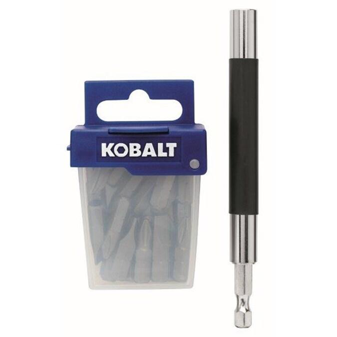 Item #0394480 Kobalt 21 Piece Screwdriver Bit Set