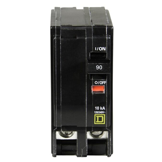 Square D Interrupteurs 100 Amp 30 mA Double Pôle 100 A Qwikline RCD sqoe 100030