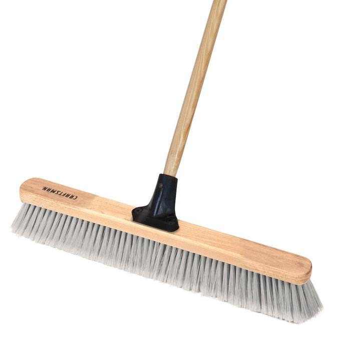 Contractors 30 Fine Bristles FlexSweep Flex-Power Commercial Push Broom