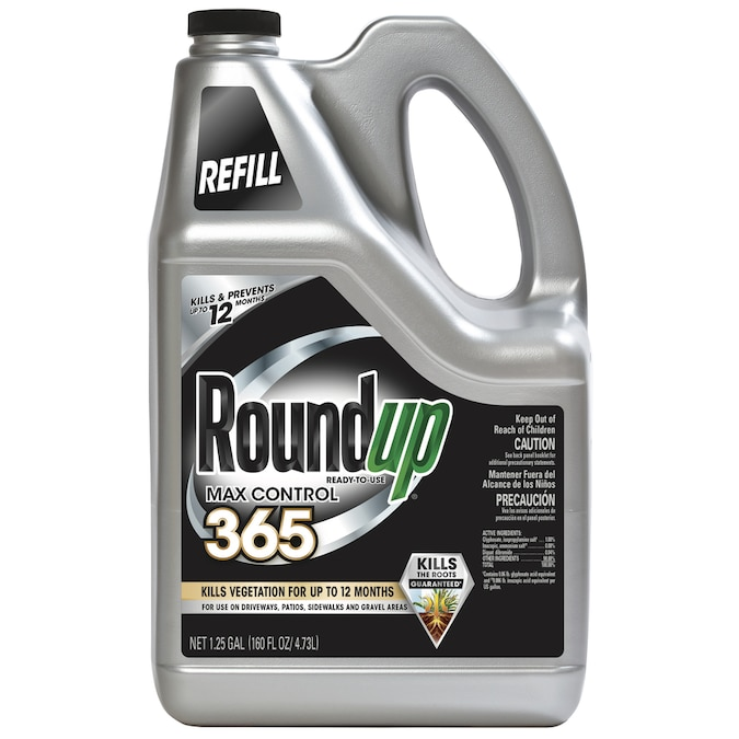 Roundup Max Control 365 Concentrate 32-Ounce Weed Killer Plus Weed Preventer