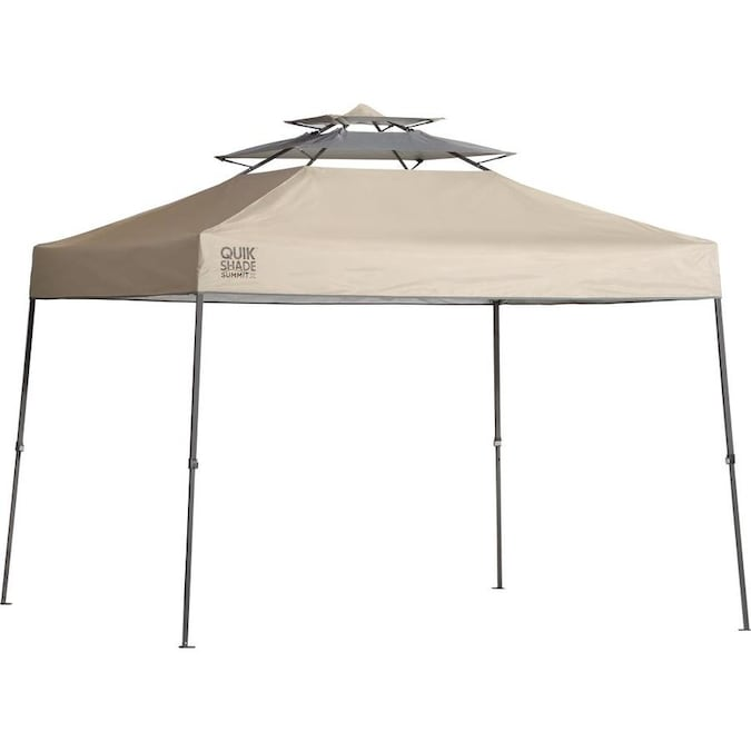 Z-Shade 12 x 12 Ft Portable Canopy w//TanZ-Shade Mesh Wall Screen Room Attachment