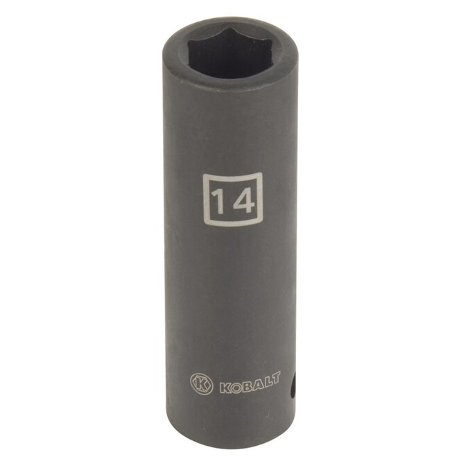 """1//2/"""" Drive Low Profile Impact Socket 14mm 6 Point"""