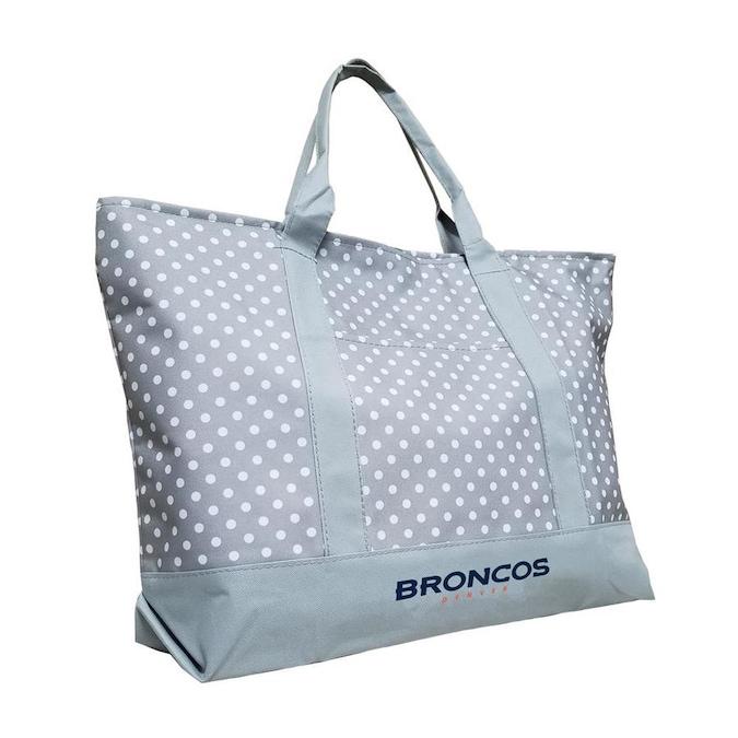 Denver Broncos Patterned Tote Bag