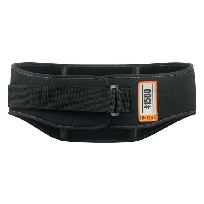 Ergodyne 1051 S Black Mesh Back Support w//Lumbar Pad