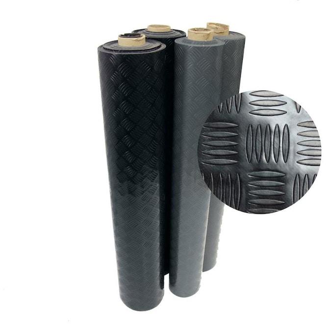 Kora 76 Rubber Block 120 x 80 x 20 mm Black