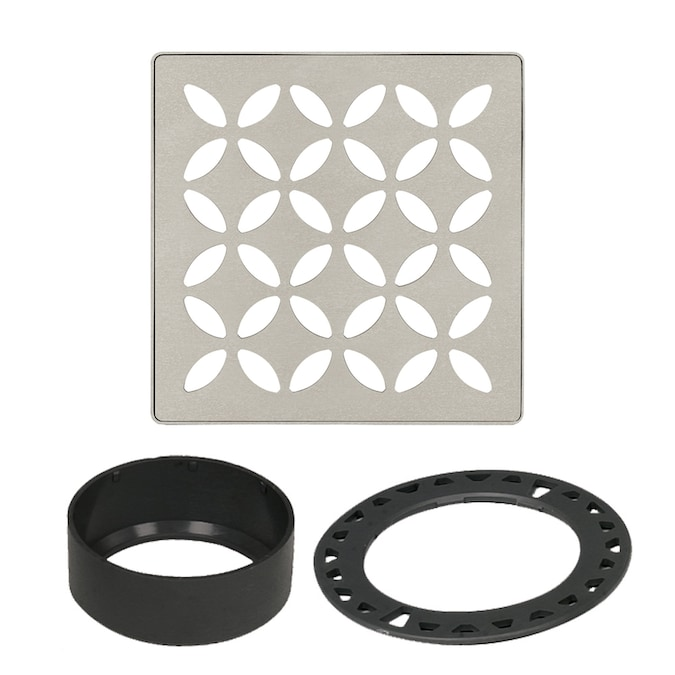 Schluter Kerdi Drain Grate Kit Curve Floral or Pure ALL STYLES AVAILABLE