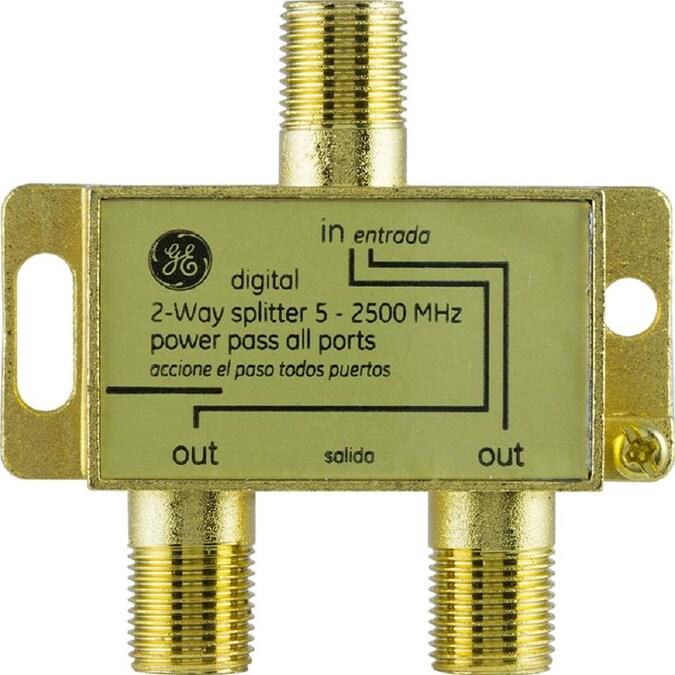 2 Pack CESS-142 Banana Plug Splitter 2-in 1-Out