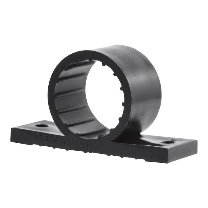 """1//2/"""" Vinyl Coated Half-Clamps pack of 10"""