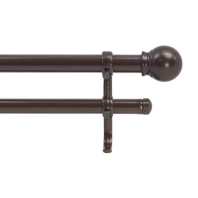 Bravada Select Single Standard Curtain Rod 48-84 Projects 2 1/⁄2