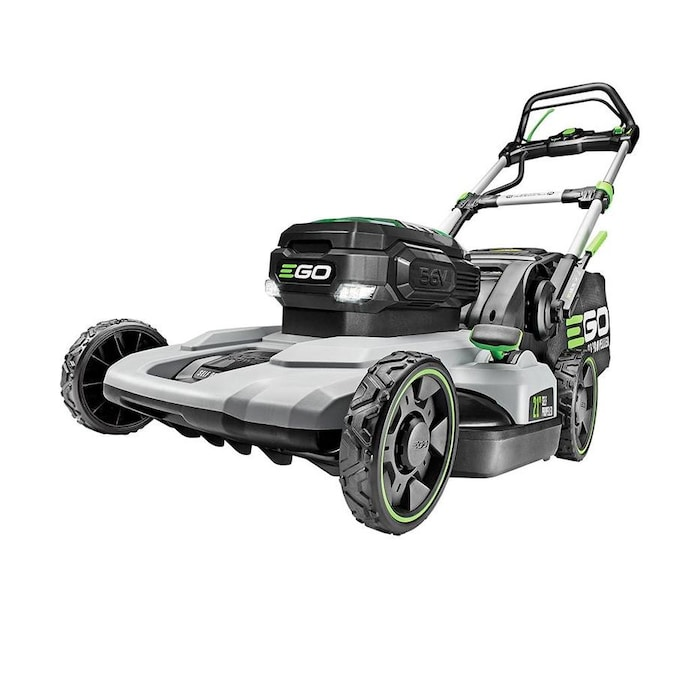 Ego Power 56 Volt Brushless Lithium Ion Self Propelled 21 In Cordless Electric Lawn Mower In The Cordless Electric Push Lawn Mowers Department At Lowes Com
