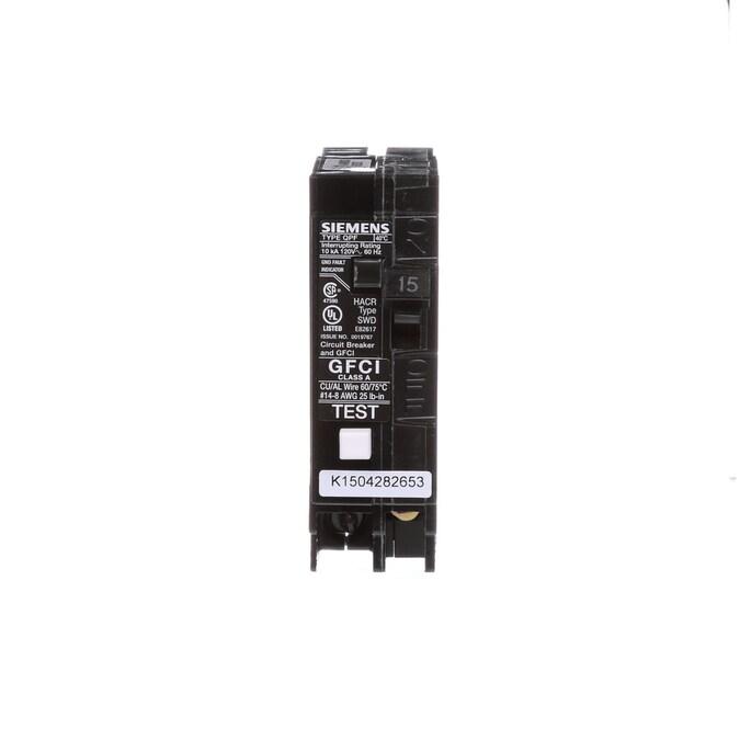 1 Pole 120//240 VAC Murray 15 AMP Circuit Breaker