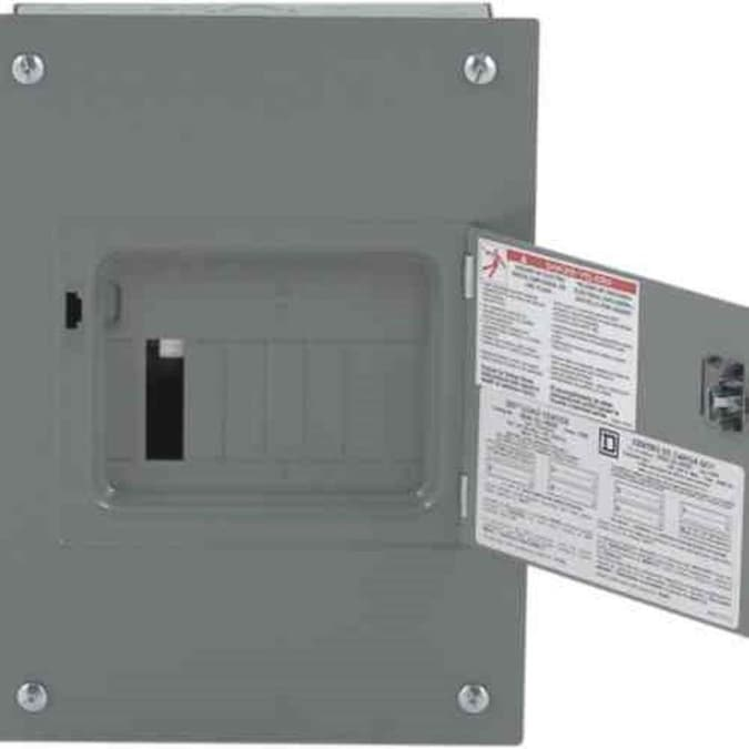 Electrical Sub-Panel Box Indoor Main Lug Load Center 100 Amp 6 Space 12 Circuit*
