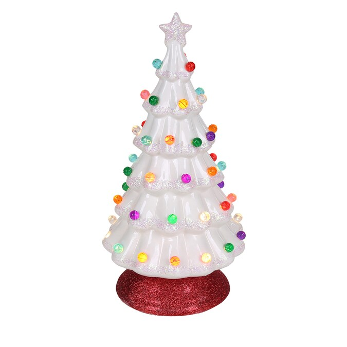 25 Globe Light Bulb Assortment for Ceramic Christmas Trees in 9 Colors