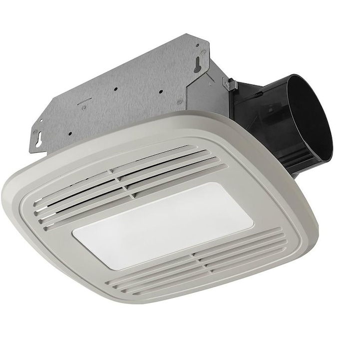 Utilitech 1 5 Sone 80 Cfm White Bathroom Fan Energy Star In The Bathroom Fans Heaters Department At Lowes Com