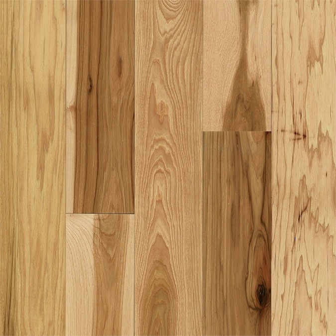 Royal Hickory Plank Engineered Hardwood Flooring SAMPLE, Country Natural