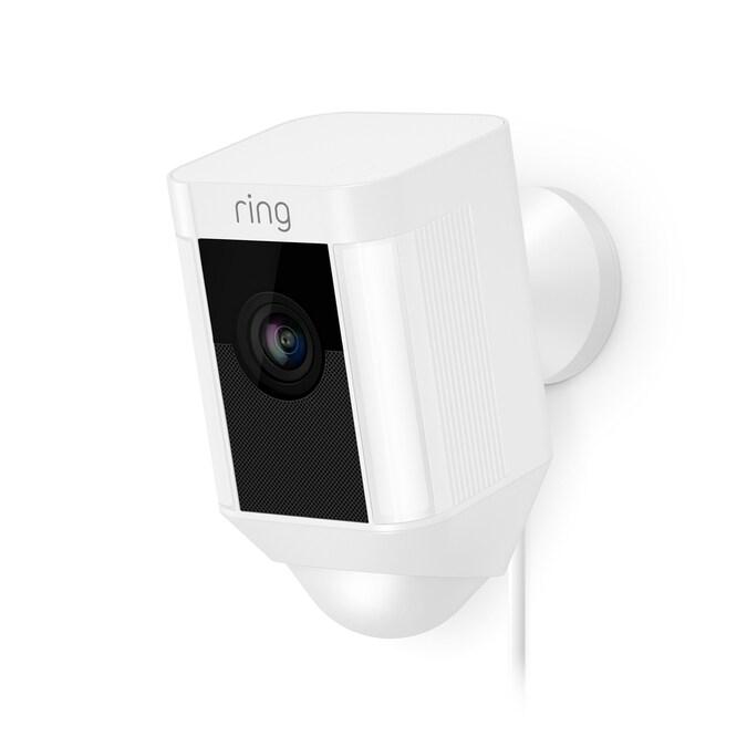 Ring Spotlight Wired Motion Detection Camera 8SH1P7-WEN0