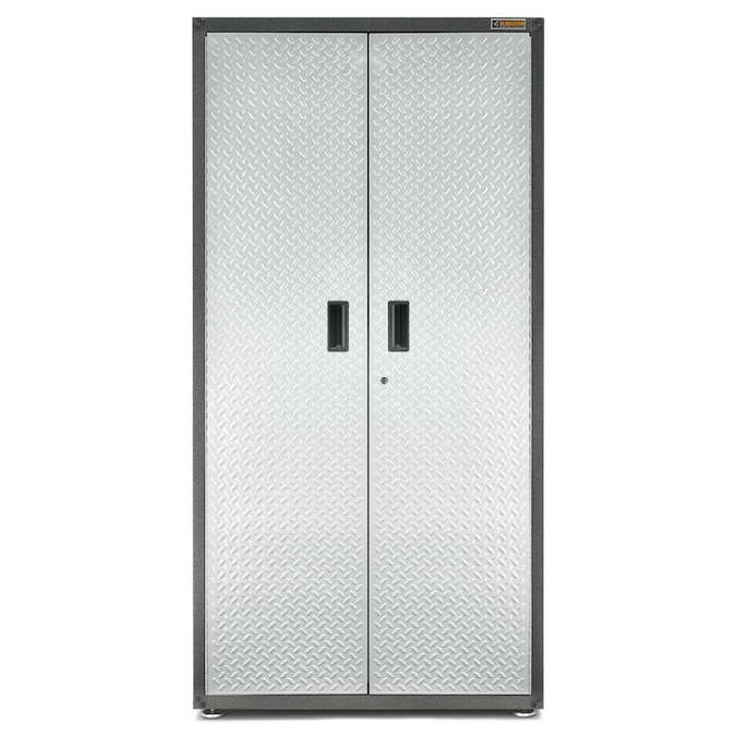 Gladiator Ready To Assemble Jumbo Gearbox 36 In W X 72 H 24 D Steel Freestanding Or Wall Mounted Garage Cabinet The Cabinets Department At Lowes Com