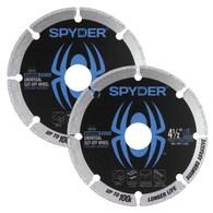 2-Pack Spyder 4-1/2-in Diamond Blade Deals