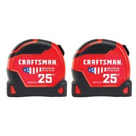 Craftsman Proreach 2-Pack 25-ft Auto Lock Tape Measure Deals