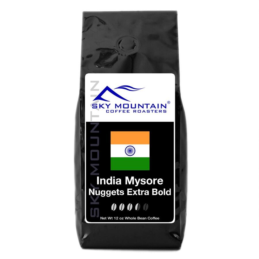 Sky Mountain Coffee India Mysore Nug 12-oz Whole Bean Coffee