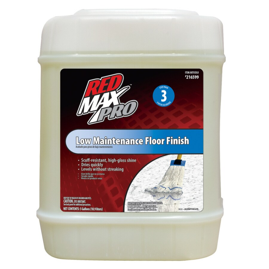 Red Max 5-Gallon Low-Maintenance Floor Finish