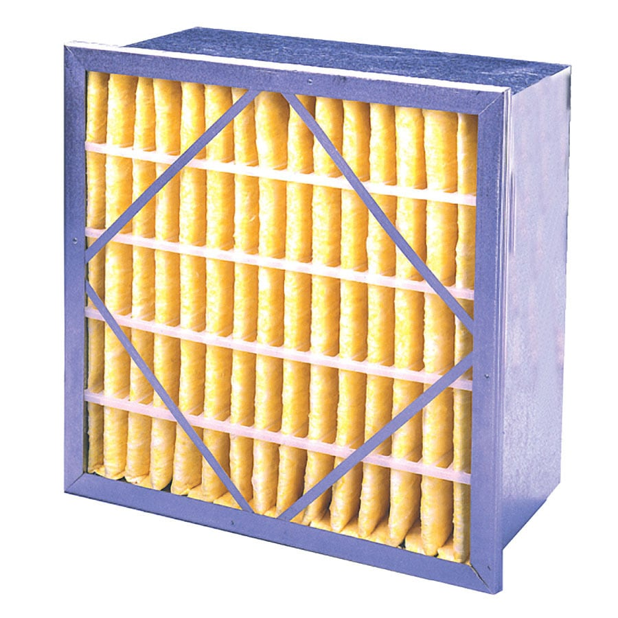 Flanders 20-in x 20-in x 12-in Box Ready-to-Use Industrial HVAC Filter