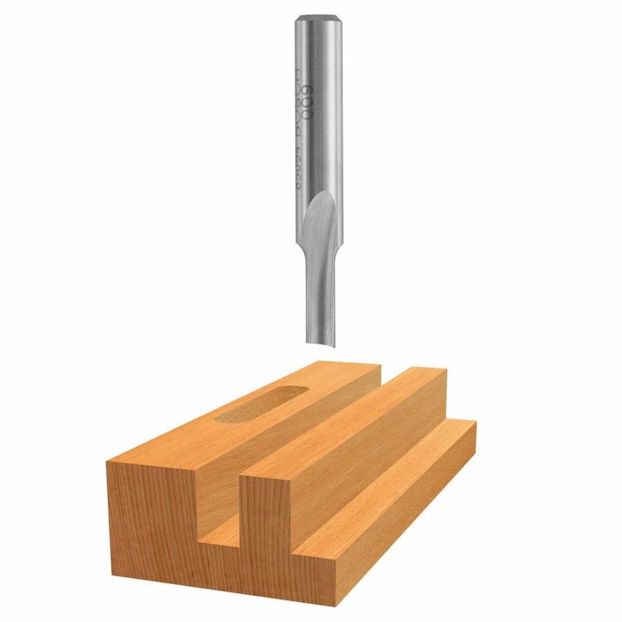Bosch 1/8-in High-Speed Steel Straight Bit
