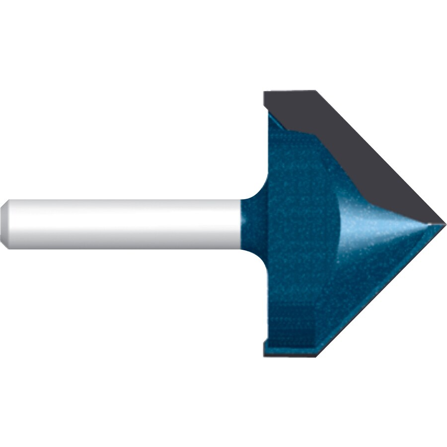 Bosch 3/8-in Carbide-Tipped V-Groove and Scoring Bit