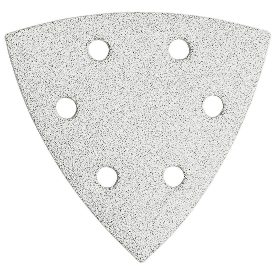 Bosch 5-Pack 3.75-in W x 3.75-in L 120-Grit Industrial Detail Sandpaper
