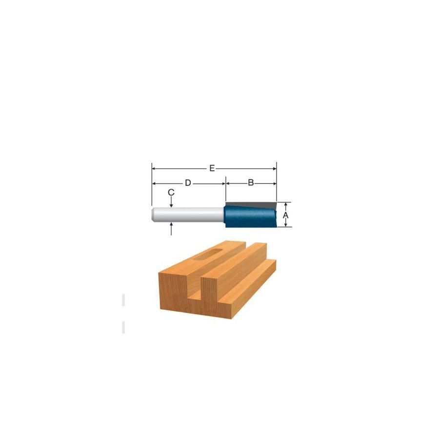 Bosch 3/4-in Carbide-Tipped Straight Bit