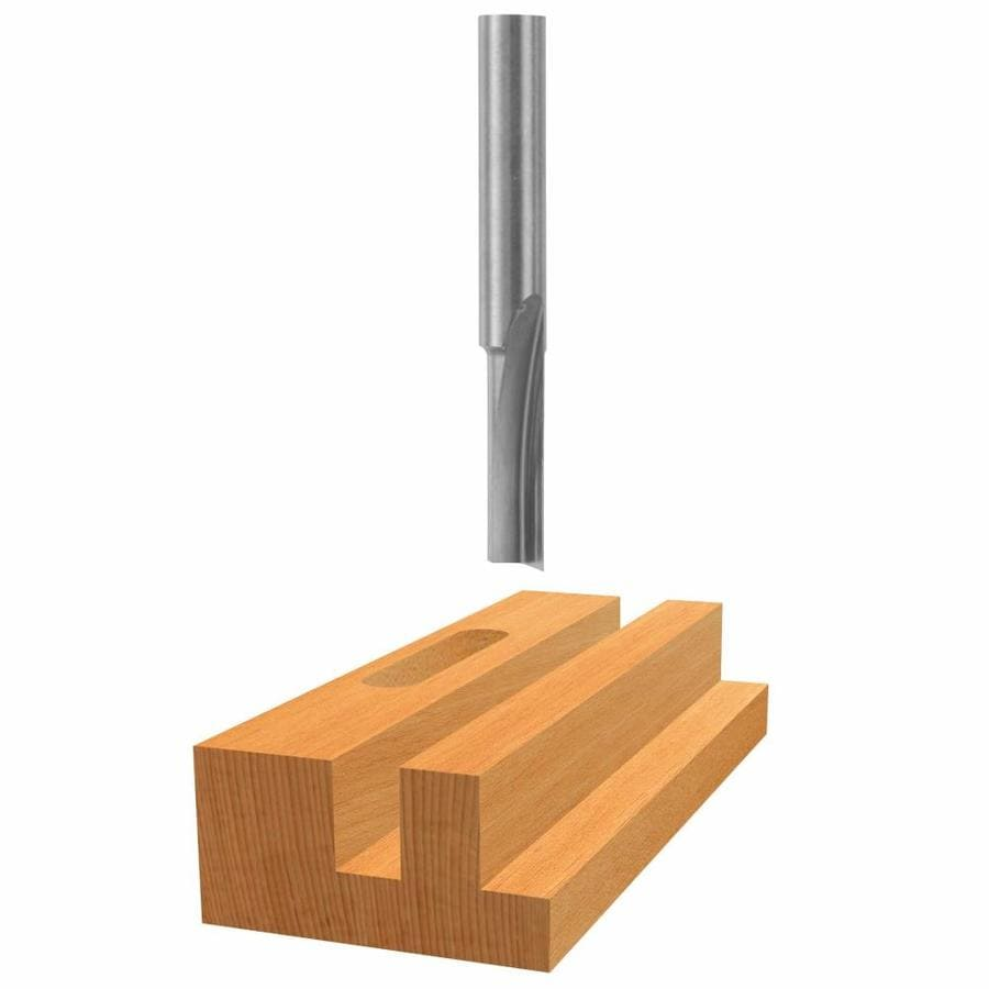 Bosch 1/4-in Solid Carbide Straight Bit