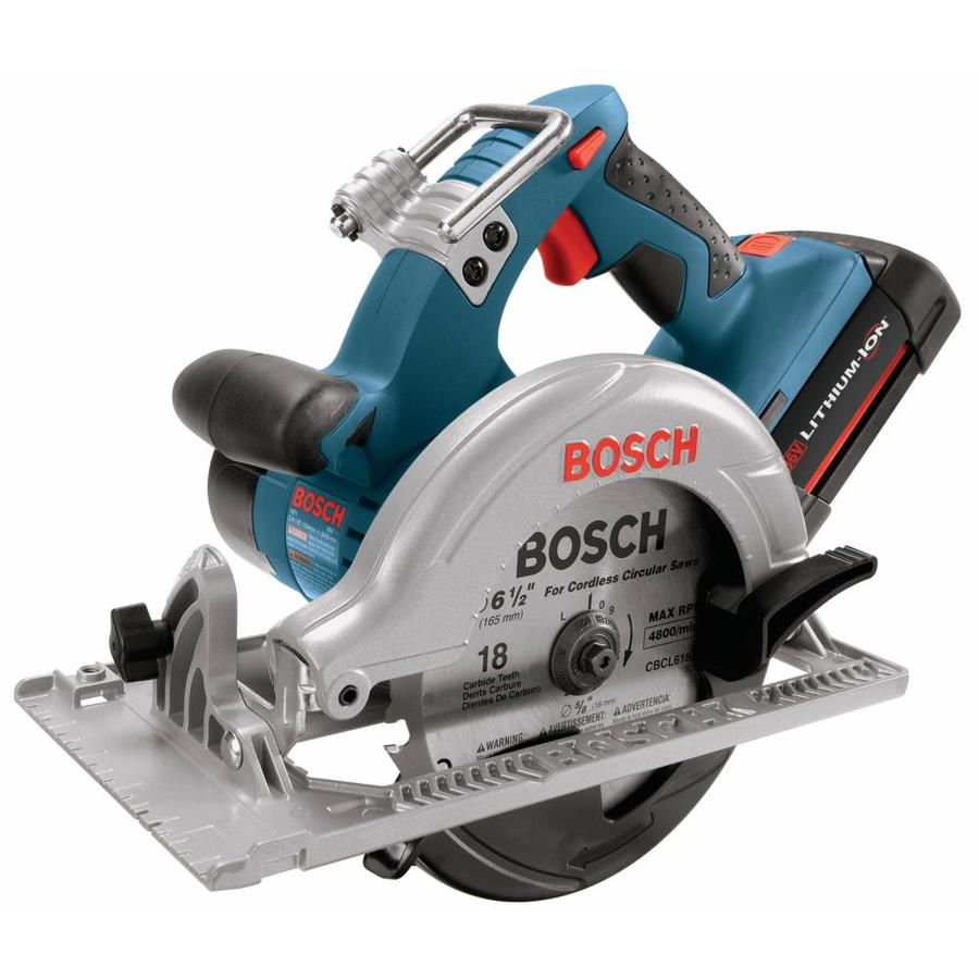 Bosch 36-Volt 6-1/2-in Cordless Circular Saw (Bare Tool)