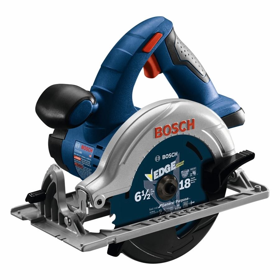 Bosch 18-Volt 6-1/2-in Cordless Circular Saw (Bare Tool)