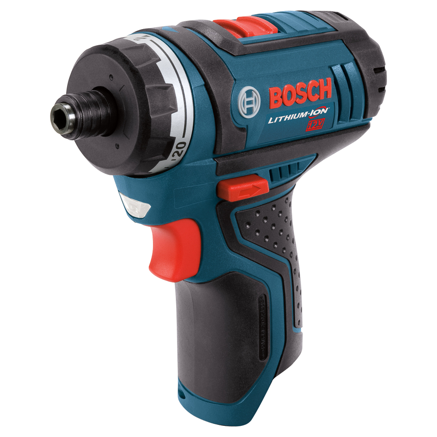 "Bosch 12-Volt Max 1/4"" Cordless 2-Speed Pocket Driver Bare Tool"