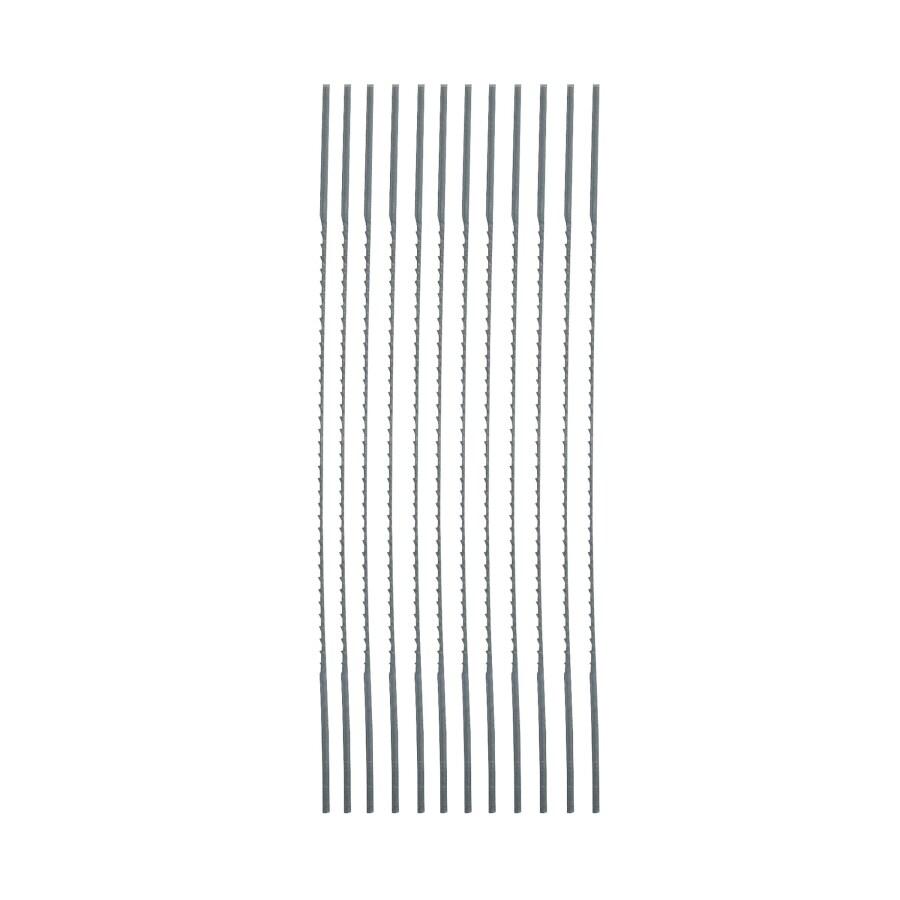 Bosch 12-Pack 5-in Plain Scroll Saw Blades