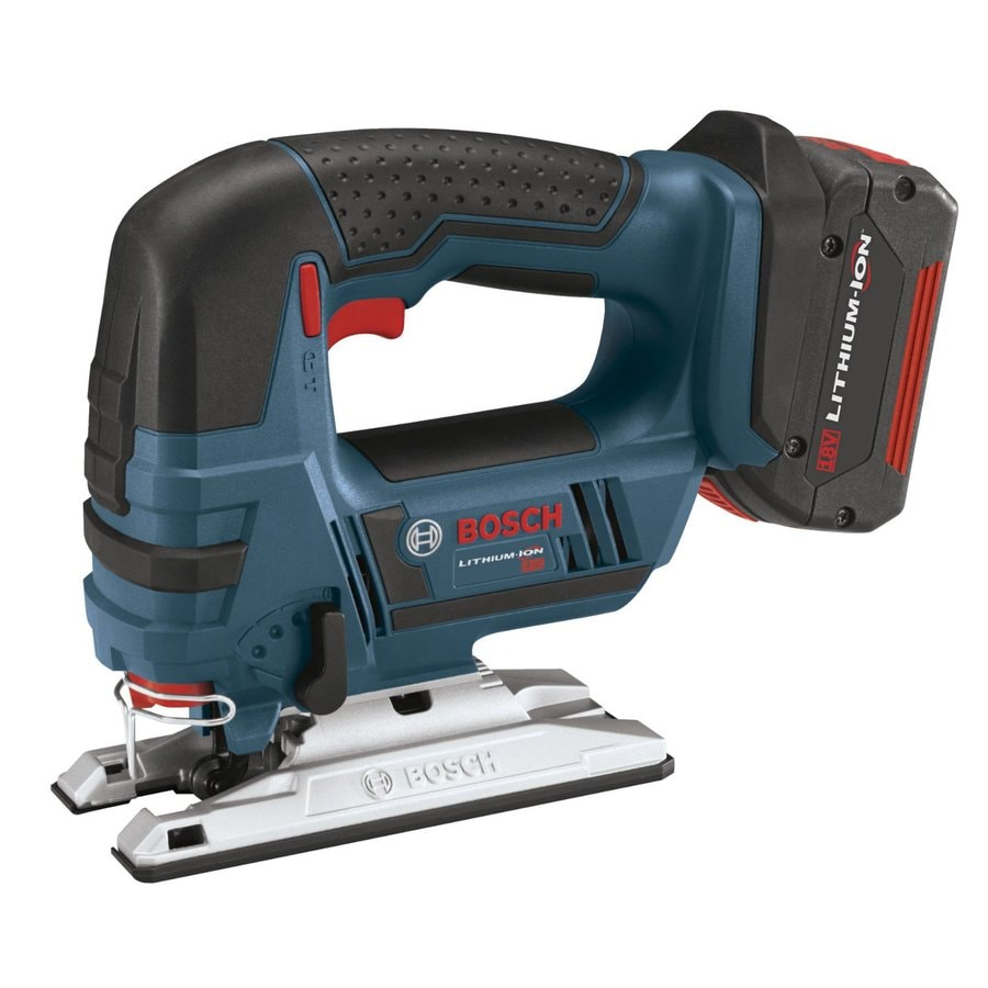 Bosch 18-Volt Variable Speed Keyless Cordless Jigsaw Battery Included