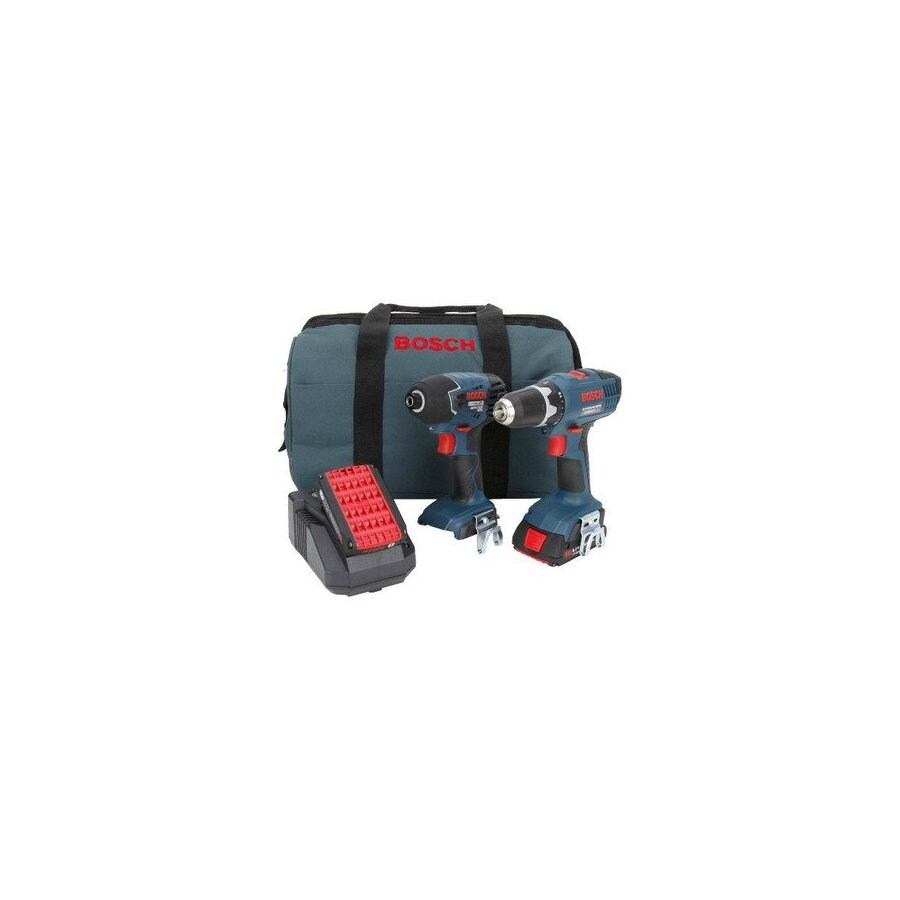 Bosch 18-Volt Lithium Ion Drill/Driver and Impact Driver Kit