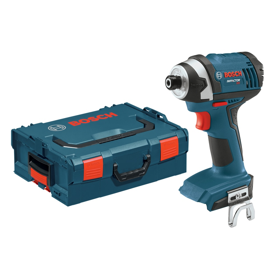 Bosch 18-Volt 1/4-in Cordless Variable Speed Impact Driver with Hard