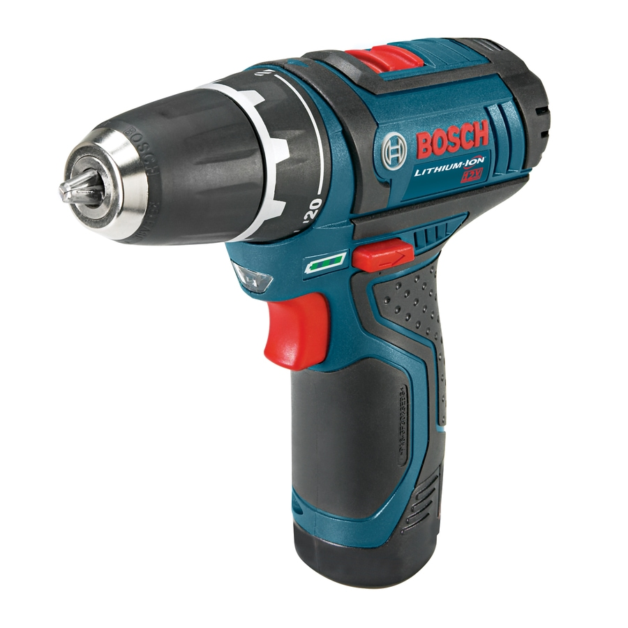 Bosch 12-Volt Max 3/8-in Cordless Drill with Battery and Soft Case
