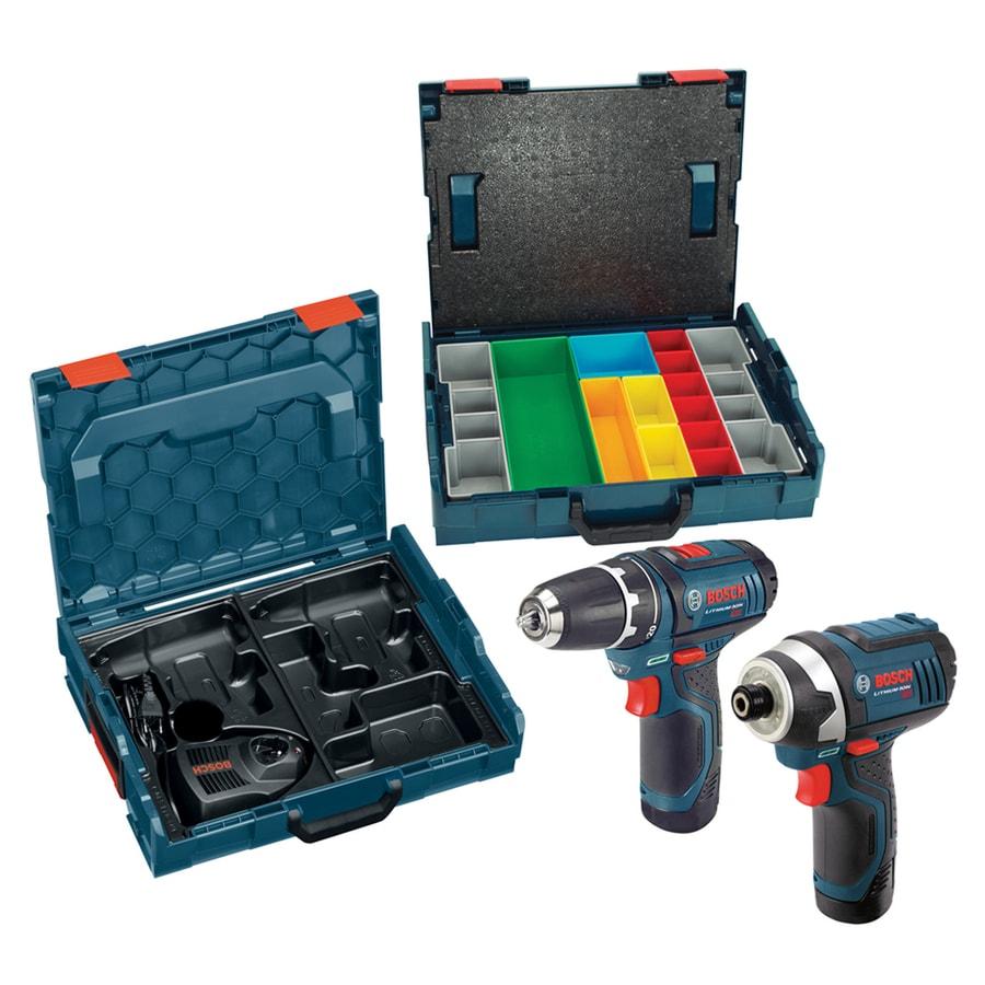 Bosch 2-Tool 12-Volt Max Motor Lithium Ion Cordless Combo Kit