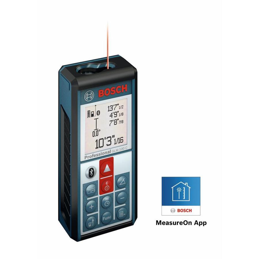 Bosch 330-ft Metric and SAE Laser Distance Measurer