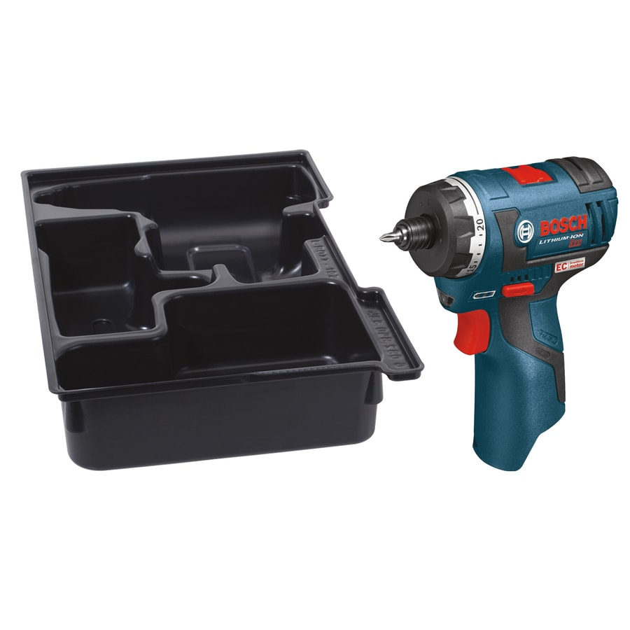 Bosch 12-Volt Lithium Ion (Li-ion) 1/4-in Cordless Brushless Drill (Bare Tool)