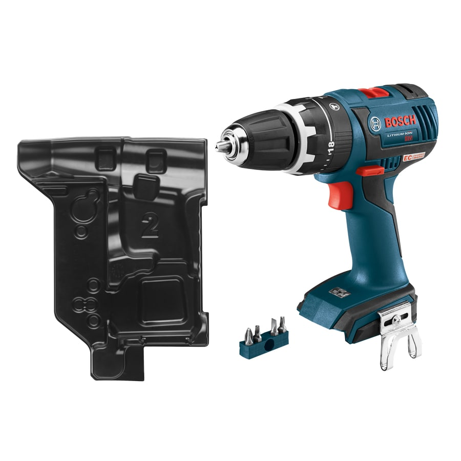 Bosch 1/2-in 18-Volt Variable Speed Brushless Cordless Hammer Drill (Bare Tool)