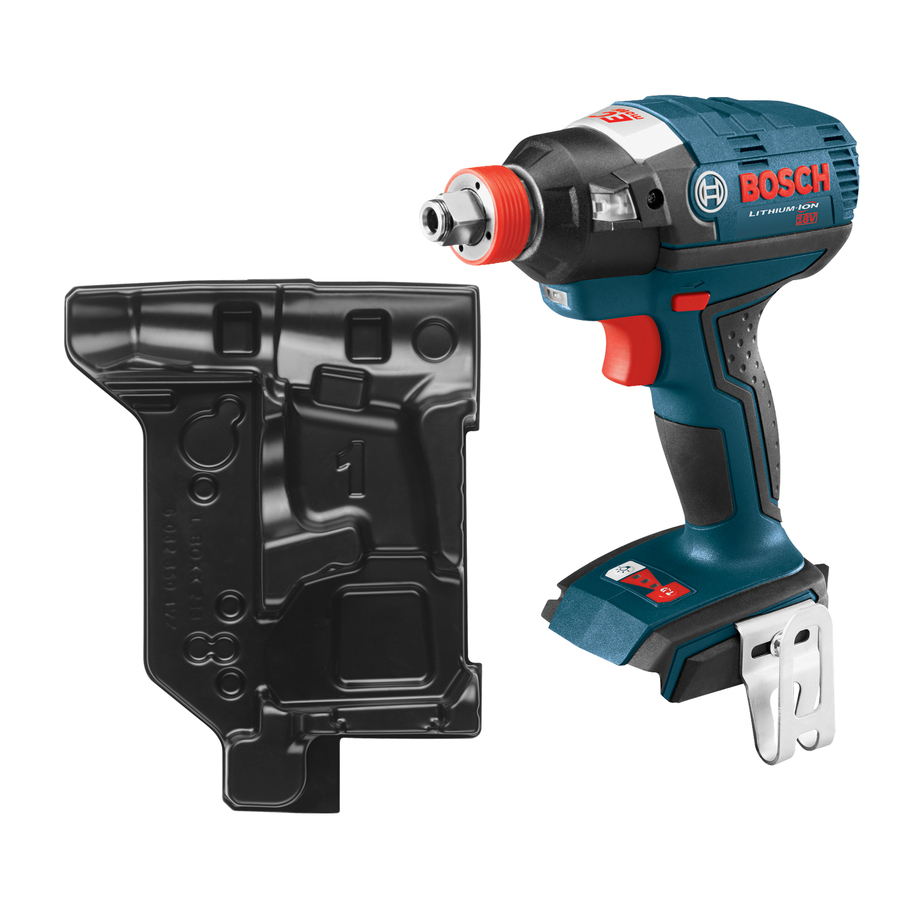 Bosch 18-Volt Lithium Ion (Li-ion) 1/2-in Cordless Variable Speed Brushless Impact Driver