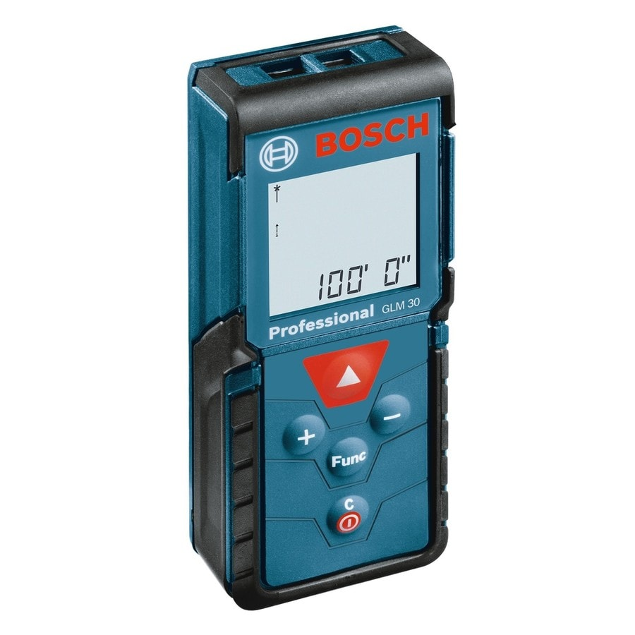 Bosch 100-ft Metric and SAE Laser Distance Measurer