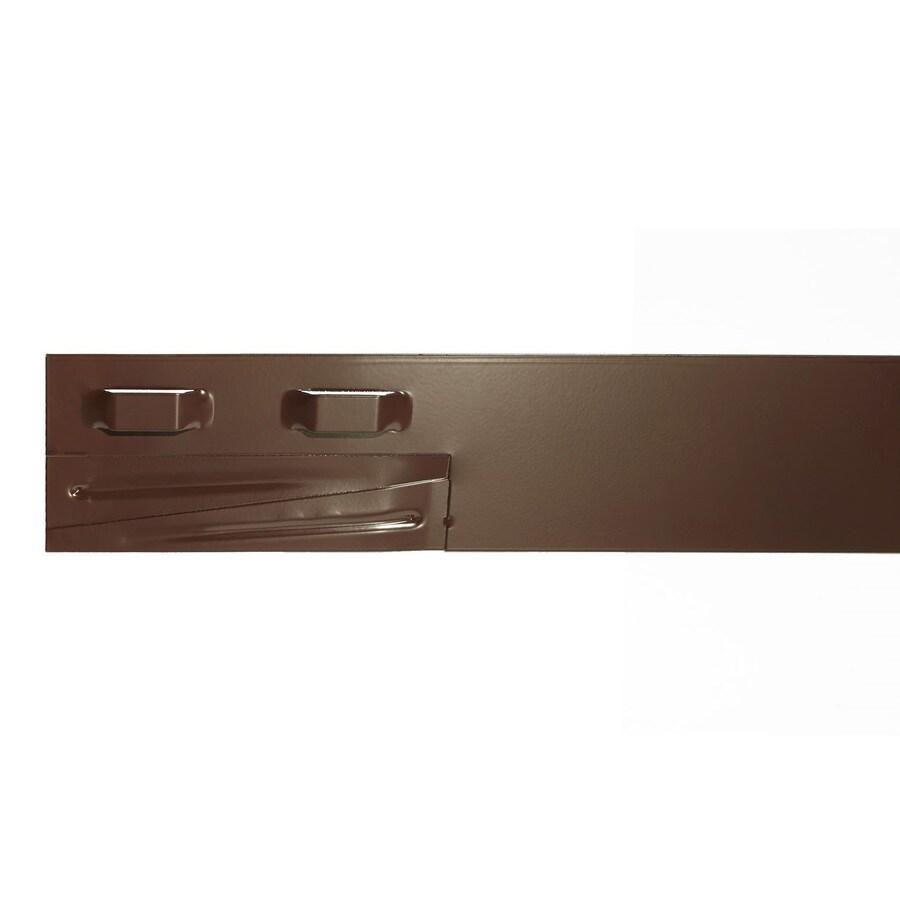 COL-MET 8-ft Brown Powder Coat Landscape Edging Section