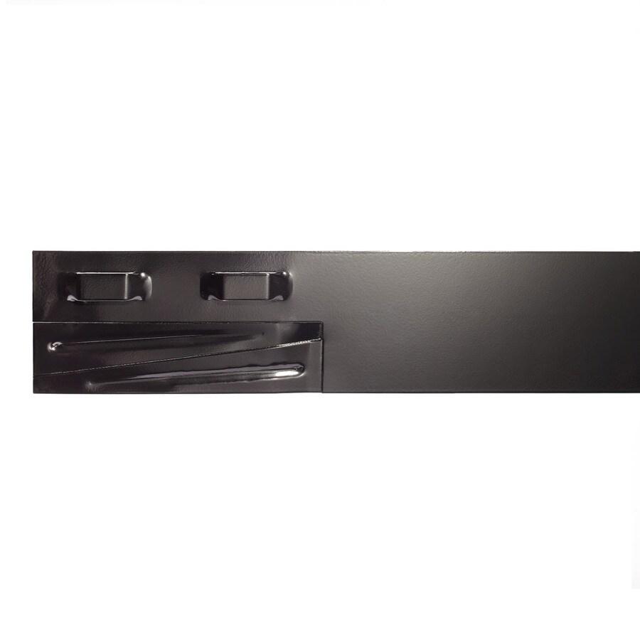 COL-MET 8-ft Black Powder Coat Landscape Edging Section